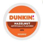 Dunkin Donut Hazelnut 22 pack K-Cups