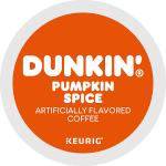 Dunkin Donut Pumpkin Spice K-Cup