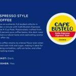 cafe bustelo espresso 24 k cups